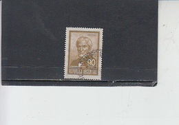ARGENTINA  1966-7 - Yvert  783 - Brown - Argentina