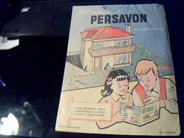 Protege Cahier PERSAVON - Buvards, Protège-cahiers Illustrés