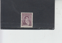 ARGENTINA 1935-36 - Yvert 363** - Selgrano - Argentina