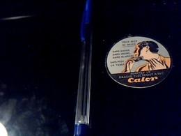 Publicitee Ancienne Etiquette Rasoir CALOR - Buvards, Protège-cahiers Illustrés