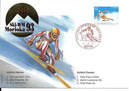 SKI ALPIN - CHAMPIONNAT DU MONDE - WORLD CHAMPIONSHIP ALPINE SKIING - JAPAN MORIOKA 1993 - Ski