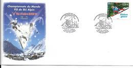 SKI ALPIN - CHAMPIONNAT DU MONDE - WORLD CHAMPIONSHIP ALPINE SKIING - VAL D'ISERE 2009 FRANCE - Ski