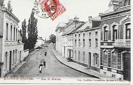 CPA / AK / PK  -  MERBES LE CHÂTEAU   Rue St Martin - Merbes-le-Château