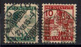Schweiz 1915 // Mi. 128/129 O (032..227) - Schweiz