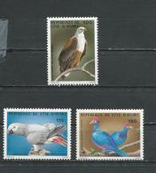 COTE IVOIRE Scott 680-682 Yvert 660-662 (3) ** Cote 9,00 $ 1983 - Côte D'Ivoire (1960-...)