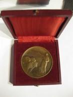 Médaille BACCALAUREAT Attribué à M.L. Laugier En 1937, Par Patriache - Other