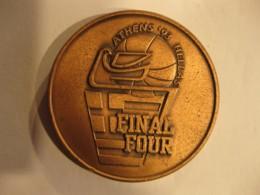 Médaille 1993 ATHENES FIBA European League FINAL FOUR , Ligue Des Champions D'Europe De Basket-ball - Sports