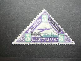 Lietuva Litauen Lituanie Litouwen Lithuania # 1922 Used # Mi. 119 - Lituanie