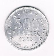 500 MARK 1923 A DUITSLAND /8004/ - [ 3] 1918-1933 : Republique De Weimar