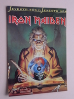 IRON MAIDEN Seventh Son Of A Seventh Son ( 1028 - Made In E.E.C. ) Anno 19?? ( See/zie/voir Photo ) ! - Cantantes Y Músicos