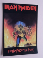 IRON MAIDEN The Number Of The Beast ( 1303 - Made In E.E.C. ) Anno 19?? ( See/zie/voir Photo ) ! - Cantantes Y Músicos
