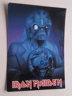 IRON MAIDEN ( 1256 - Made In E.E.C. ) Anno 19?? ( See/zie/voir Photo ) ! - Chanteurs & Musiciens