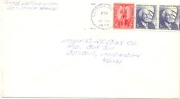 DETROIT  197 FRANK LLOYD WRIGHT HISTORIAN USA POSTAGE    COVER   (DICE180106) - Stati Uniti