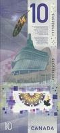CANADA,2018 ..$10 POLYMER UNC BANKOTES (R) - Canada