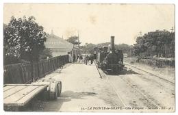 VERDON-SUR-MER (33, Gironde) La Pointe-de Grave - La Gare Avec Arrivée D'un Train - Belle Animation - France