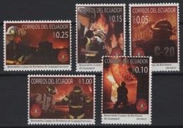 Ecuador (2007) Yv. 2056/60  /  Firefighter - Firemen - Bombero - Pompier - Bombero