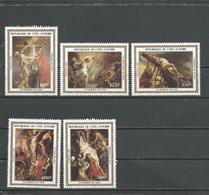 COTE IVOIRE Scott 674-678 Yvert 654-658 (5) ** Cote 15,40 $ 1983 - Côte D'Ivoire (1960-...)