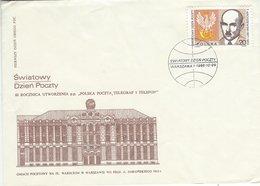Poland - SG: 3176 World Post Day 1988.   H-1465 - Post