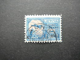 Lietuva Litauen Lituanie Litouwen Lithuania # 1922 Air Mail Used # Mi. 121 - Lituanie
