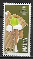 MALTE    -   1988 .   Y&T N° 784 *.   Basket-ball. - Malte