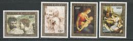 COTE IVOIRE Scott 698-701 Yvert 671-674 (4) ** Cote 11,50 $ 1983 - Côte D'Ivoire (1960-...)