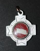 "Pendentif Médaille Religieuse Reliquaire Relique ""Sainte Lucie De Syracuse"" Religious Relic - Religion & Esotérisme"