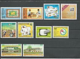 COTE IVOIRE Voir Détail (10) ** Cote 14,20 $ 1984 - Côte D'Ivoire (1960-...)
