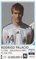 Card (no Sticker)  Rodrigo Palacio Argentina Brazil FIFA 2014 Bosnia Edition Football WC World Cup - Adesivi