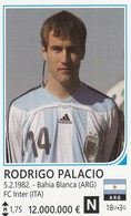 Card (no Sticker)  Rodrigo Palacio Argentina Brazil FIFA 2014 Bosnia Edition Football WC World Cup - Altri