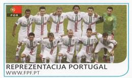 Card (no Sticker)  National Team Portugal  Brazil FIFA 2014 Bosnia Edition Football WC World Cup - Adesivi