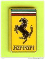 Pin's Ferrari Logo Cheval - 10O30 - Ferrari