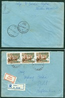 Yugoslavia 1961 Paquebot Vapore Ship Mail Boat Post Rijeka - Kotor A 351 Recommended Letter - 1945-1992 Repubblica Socialista Federale Di Jugoslavia