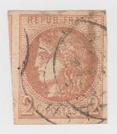 BORDEAUX N° 40B.  4 MARGES MAGNIFIQUES + 1 VOISIN/  1520 - 1870 Bordeaux Printing