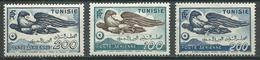 Tunisie Poste Aérienne YT N°13-14/15 Aigle Neuf/charnière * - Tunesien (1888-1955)