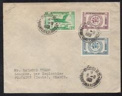 CAMBODGE - CAMBODIA - PHNOM PENH / 1959 LETTRE POUR LA FRANCE (ref LE2846) - Cambodge
