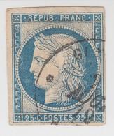 CERES N° 23. OBLITÉRÉ CàD.  TRES BELLE SIGNATURE SVP /  1520 - Cérès