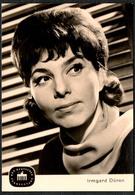 C0637 - TOP Irmgard Düren - Autogrammkarte - Deutscher Fernsehfunk DDR - Reichenbach Verlag - Autographes