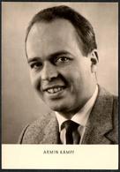 C0641 - TOP Armin Kämpf - Autogrammkarte - Reichenbach Verlag DDR - Autographes