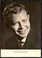 C0643 - TOP Steffen Reuter - Autogrammkarte - Reichenbach Verlag DDR - Autographes