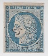 CERES N° 4. Petit Chiffre 25 AIRAINES SOMME /  1520 - 1849-1850 Cérès