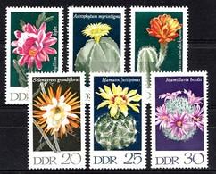 Allemagne DDR 1970  Mi.nr.:1625-1630 Kakteen  Neuf Sans Charniere /MNH / Postfris - [6] République Démocratique