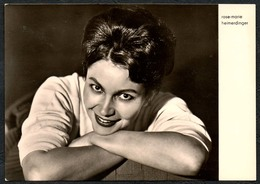 C0647 - TOP Rose Marie Heimerdinger - Autogrammkarte - Reichenbach Verlag DDR - Autographes
