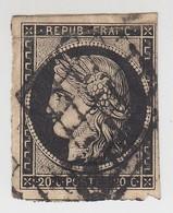 CERES N° 3 /  1520 - 1849-1850 Ceres