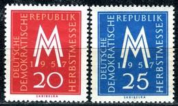 DDR - Mi 596 / 597 - ** Postfrisch (C) - 20-25Pf          Leipziger Herbstmesse 57 - [6] République Démocratique