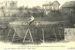 CPA N°24915 - LE CERCLE DE LA MORT PAR LES FRERES LAMURY DE GISORS - REPRODUCTION - Gisors