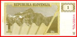 BILLETE DE ESLOVENIA S/C 1 TOLARJEV 1990 - Eslovenia
