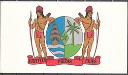 Surinam Suriname 1976,2 X KB In Souvenirmap,independence,onafhankelijkheid.Used/Gestempeld(C 370) - Suriname