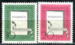 DDR - Mi 598 / 599 - ** Postfrisch (A) - 10-20Pf          Sparwochen - [6] République Démocratique
