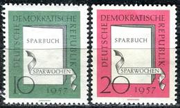 DDR - Mi 598 / 599 - ** Postfrisch (B) - 10-20Pf          Sparwochen - [6] République Démocratique