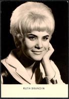 C0658 - TOP Ruth Brandin - Autogrammkarte - Reichenbach Verlag DDR - Autographes